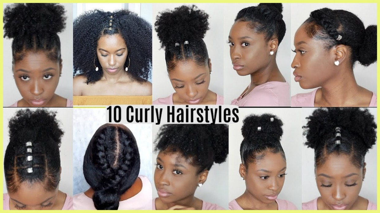 Hairstyles For Naturally Curly Hair 11 11 Quick Easy Graduation Hairstyles For Curly Hair