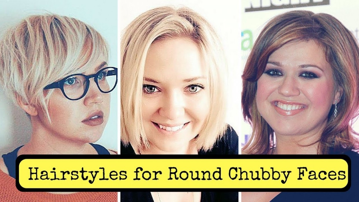 Hairstyles For Round Chubby Faces Women (11) Cute Fat Short Hairstyles For Fat Girls