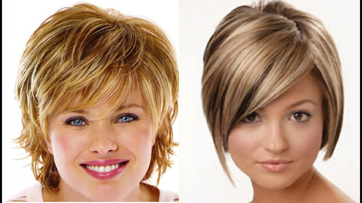 Hairstyles For Thin Hair and Fat Face