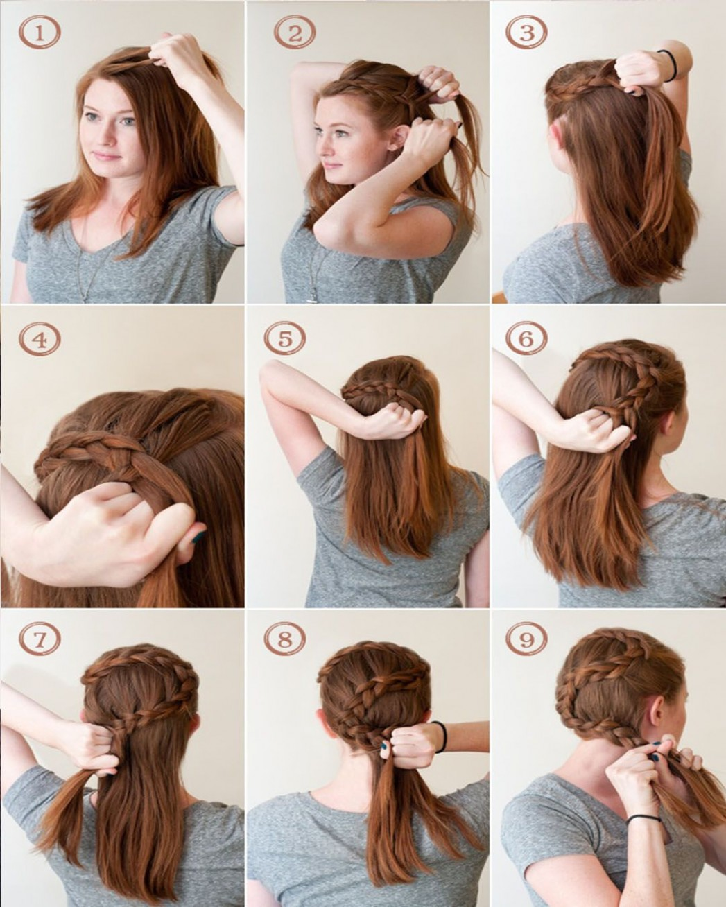 Hairstyles With Easy Step By Step Braids And Stylish Tumblr Hair Hairstyles For Long Hair Step By Step