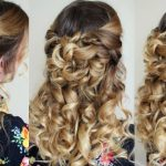 Half Up Half Down Hairstyle With Curls Braidsandstyles10 Half Up Half Down Curly Hairstyles