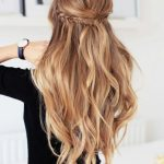 Holiday Half Updo Hairstyle Hair Styles, Wedding Hairstyles For Down Hairstyles For Long Hair