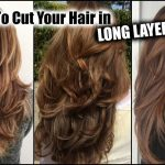 HOW I CUT MY HAIR AT HOME IN LONG LAYERS! │ Long Layered Haircut DIY At Home! │Updated! Cutting Layers In Long Hair