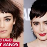 How To Baby Bangs Aka Micro Fringe All About Short Fringe Really Short Bangs