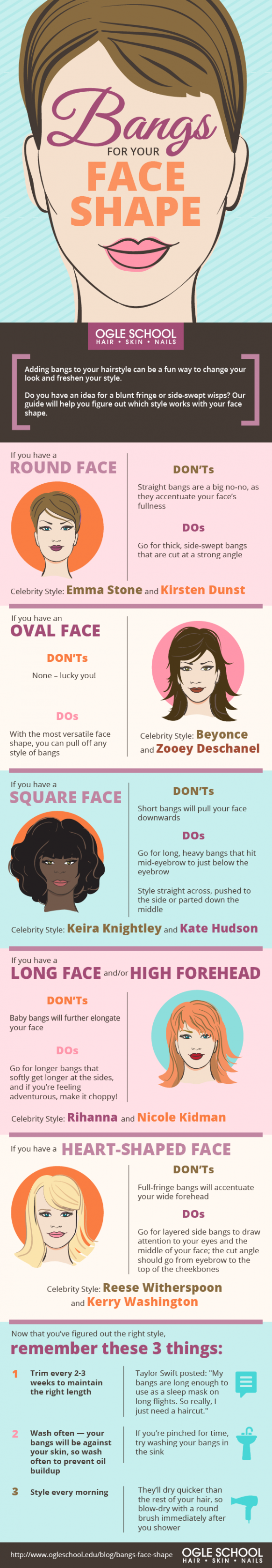 How To Choose The Right Bangs For Your Face Shape Baby Bangs Round Face