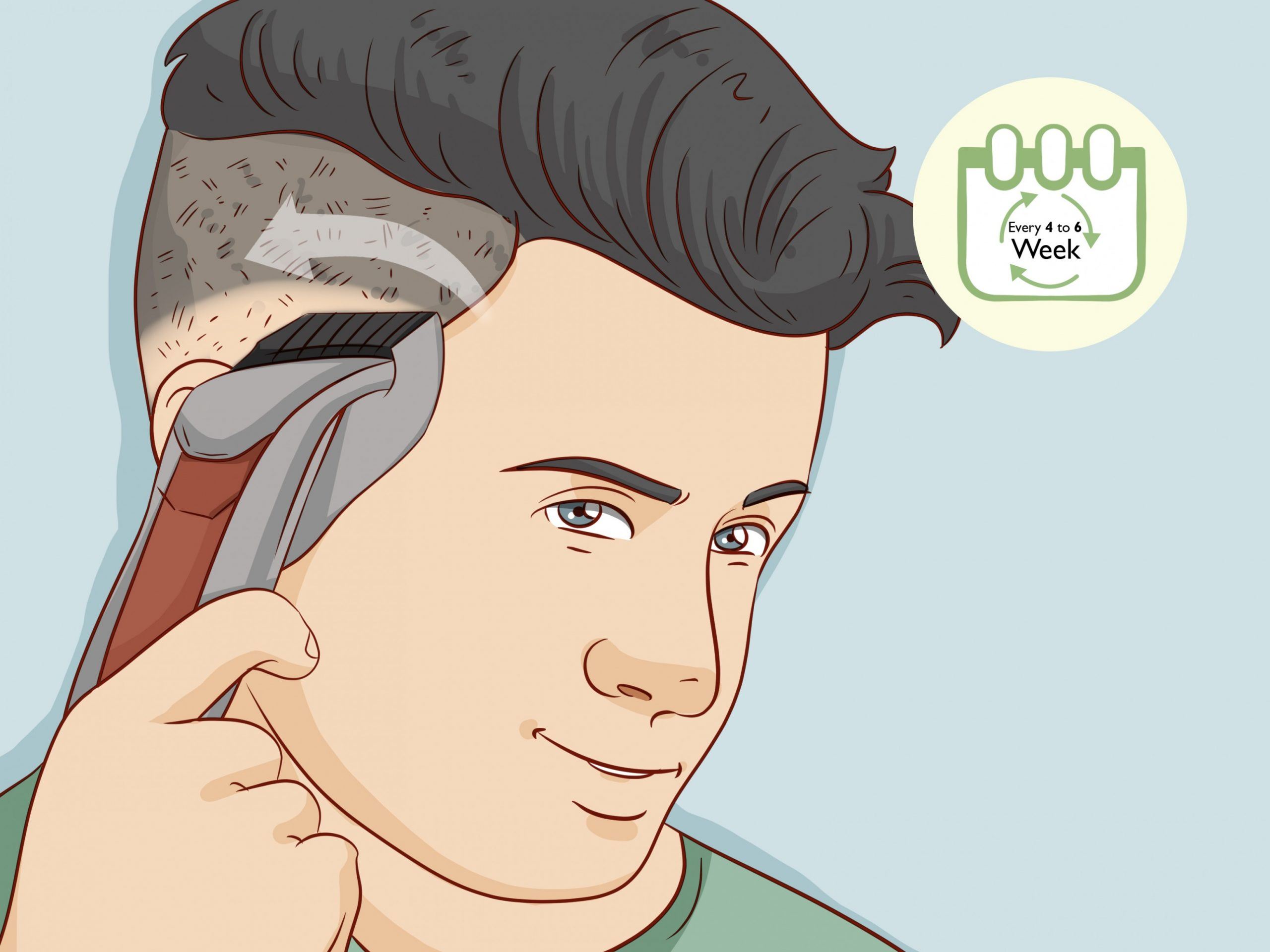 How To Cut A Fade Haircut: 10 Steps (with Pictures) WikiHow Long Fade Haircut