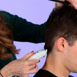 How To Cut A Man's Hair With Clippers Hair Cutting Cutting Long Hair With Clippers