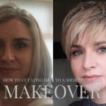 How To Cut Long Hair To Short Pixie Cut Hairstyle UnderCut Hair Makeover HallStyling Long Hair To Pixie Cut