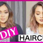 HOW TO CUT YOUR OWN HAIR SHORT AND STRAIGHT Cut Your Own Long Hair