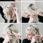 How To Do A Side Braid On Short Hair Poor Little It Girl Braids For Short Hair Step By Step