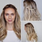 How To Do A Waterfall Braid Real Simple Waterfall Braid With Curls