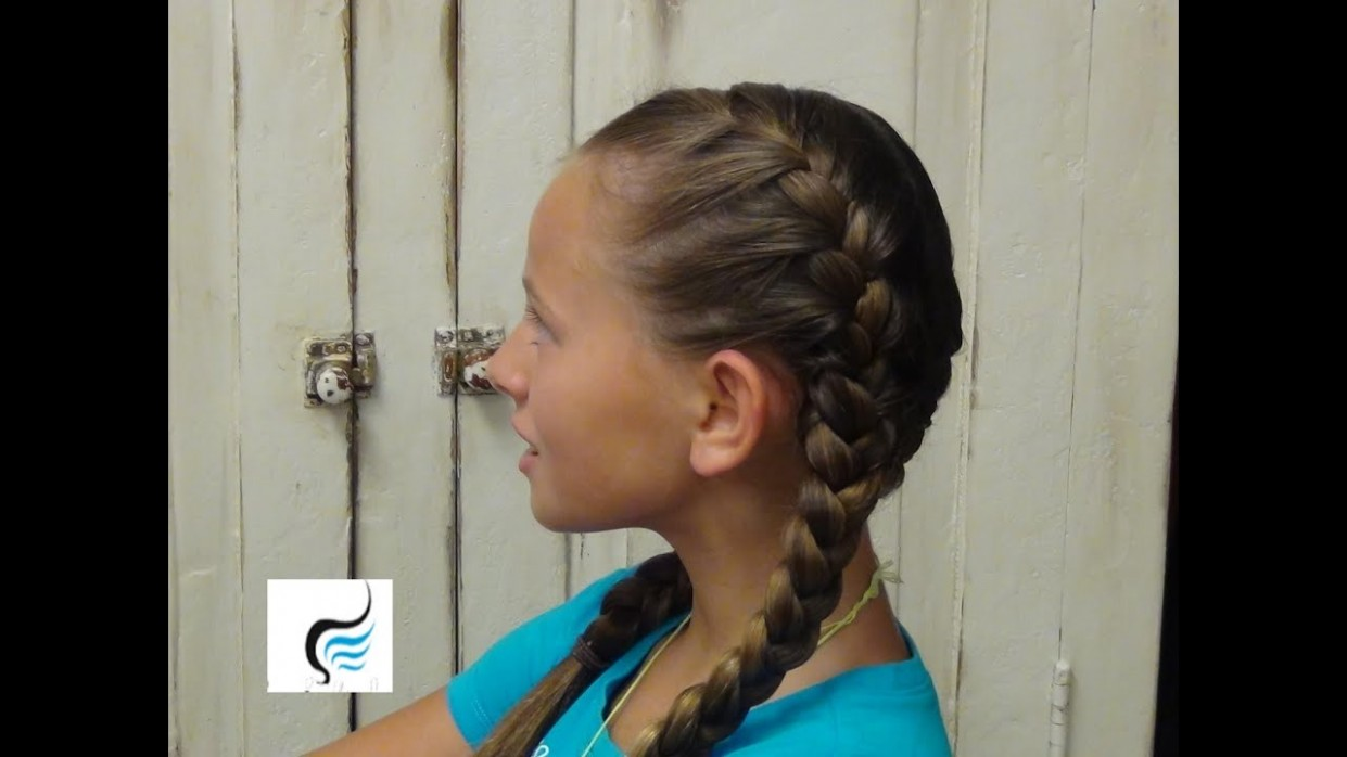 How To Do Double French Braids Boys And Girls Hairstyles 2 Long French Braids
