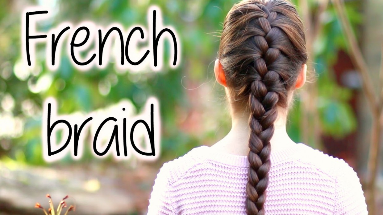 How To FRENCH BRAID For Beginners ★ DIY Step By Step Tutorial ★ Long French Braids