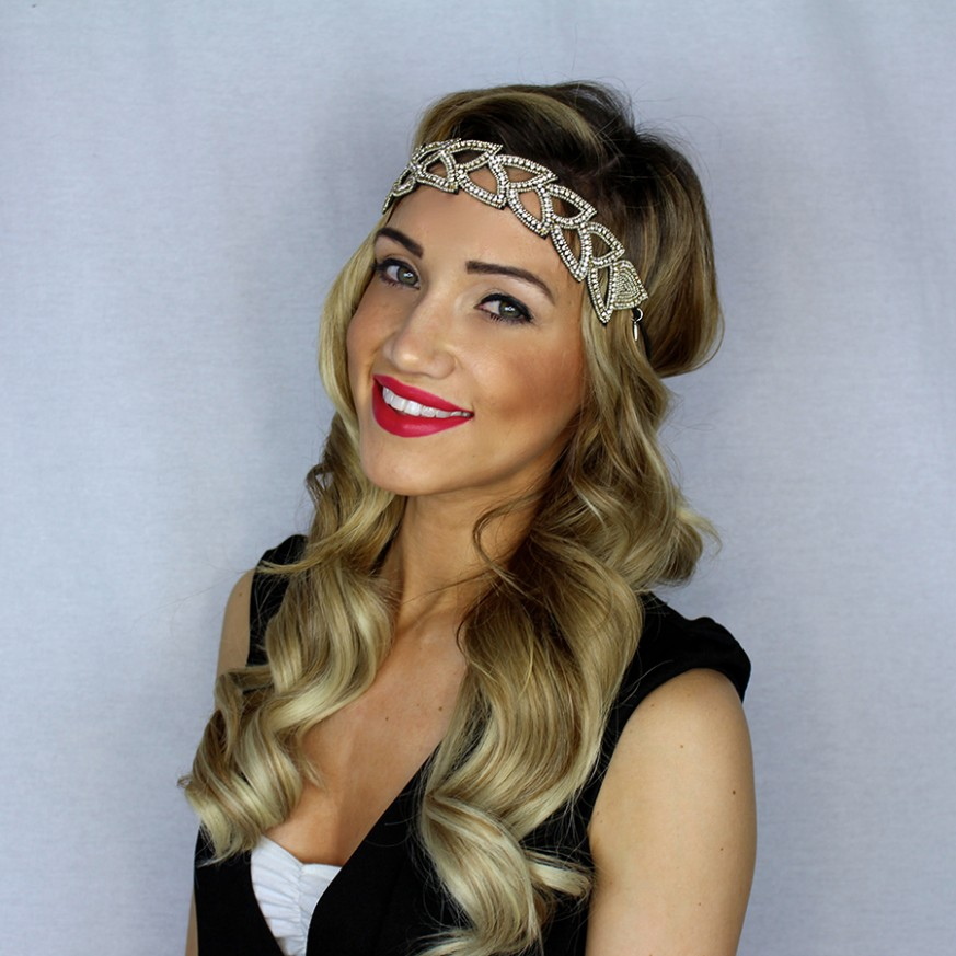 How To Get 11's Hollywood Glam Waves Desiree Hartsock Bridal 1920S Curls