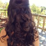 How To Get Disney Princess Hair On Your Wedding Day (With Images Curly Wedding Hairstyles Half Up Half Down