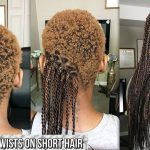 HOW TO GRIP AND BRAID VERY SHORT HAIR SENEGALESE TWISTS Box Braids On Very Short Hair