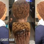 HOW TO GRIP AND DO BOX BRAIDS ON VERY SHORT NATURAL HAIR Short Box Braids On Very Short Hair