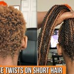 HOW TO GRIPPING AND BRAIDING VERY SHORT NATURAL HAIR TUTORIAL Box Braids On Very Short Natural Hair