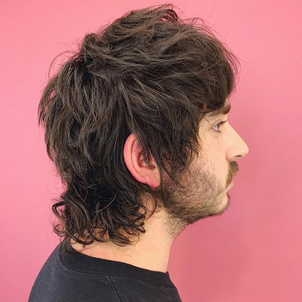 How To Grow A Mullet Haircut & 11 Ways To Wear It (11 Update) A Mullet Hairstyle
