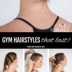 How To Look Good While You Workout – 12 Long Lasting Hairstyle Workout Hairstyles For Long Hair