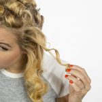 How To Make Pin Curls Like Rosie The Riveter Pin Curls With Bobby Pins