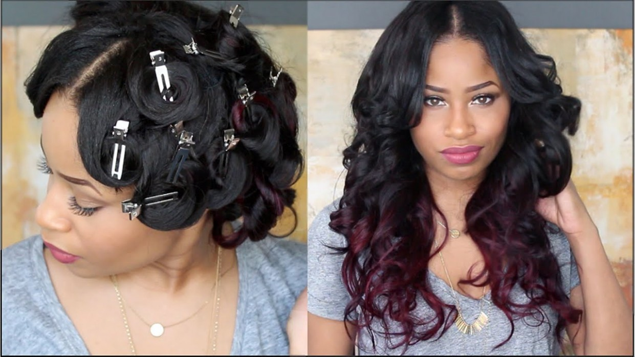 How To: PIN CURL THAT HAIR ! Pinned Up Curls