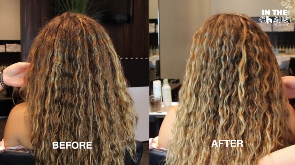 HOW TO REFRESH LONG FRIZZY WAVY CURLY HAIR MEET MY SISTER Long Wavy Curly Hair