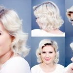 HOW TO: Retro Finger Waves Short Hairstyles Milabu Retro Hairstyle For Short Hair