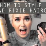 How To Style A BAD Pixie Haircut A Poisoned Production Bad Pixie Cut