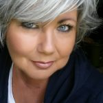 """I Really Struggled At First With The Whole """"going Grey"""", But Im Hairstyles For Grey Hair Round Face"""