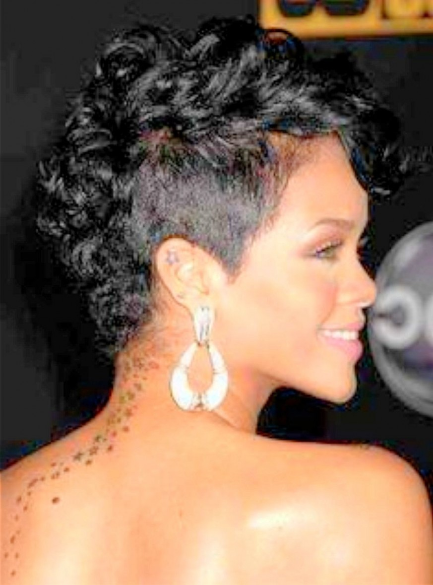 Image result for growing out a curly mohawk  Short hair mohawk