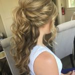 Image Result For Wedding Hairstyles Half Up Half Down Medium Half Up Half Down Medium Length Hair
