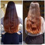 Initial Goal Reached: Waist Length, Virgin And Thick To The Ends Waist Length Hairstyles