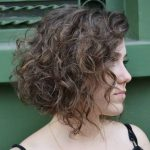 Inverted Curly Bob Hairstyle Curly Bob Hairstyles, Bob Haircut Inverted Bob Curly Hair