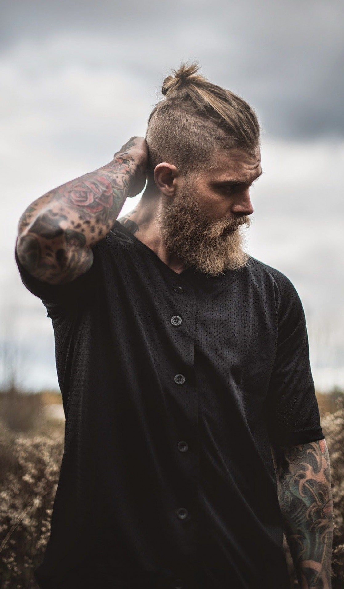 Is There Really A Man Bun For Short Hair? Let Us Find Out What Men Short Hair Man Bun