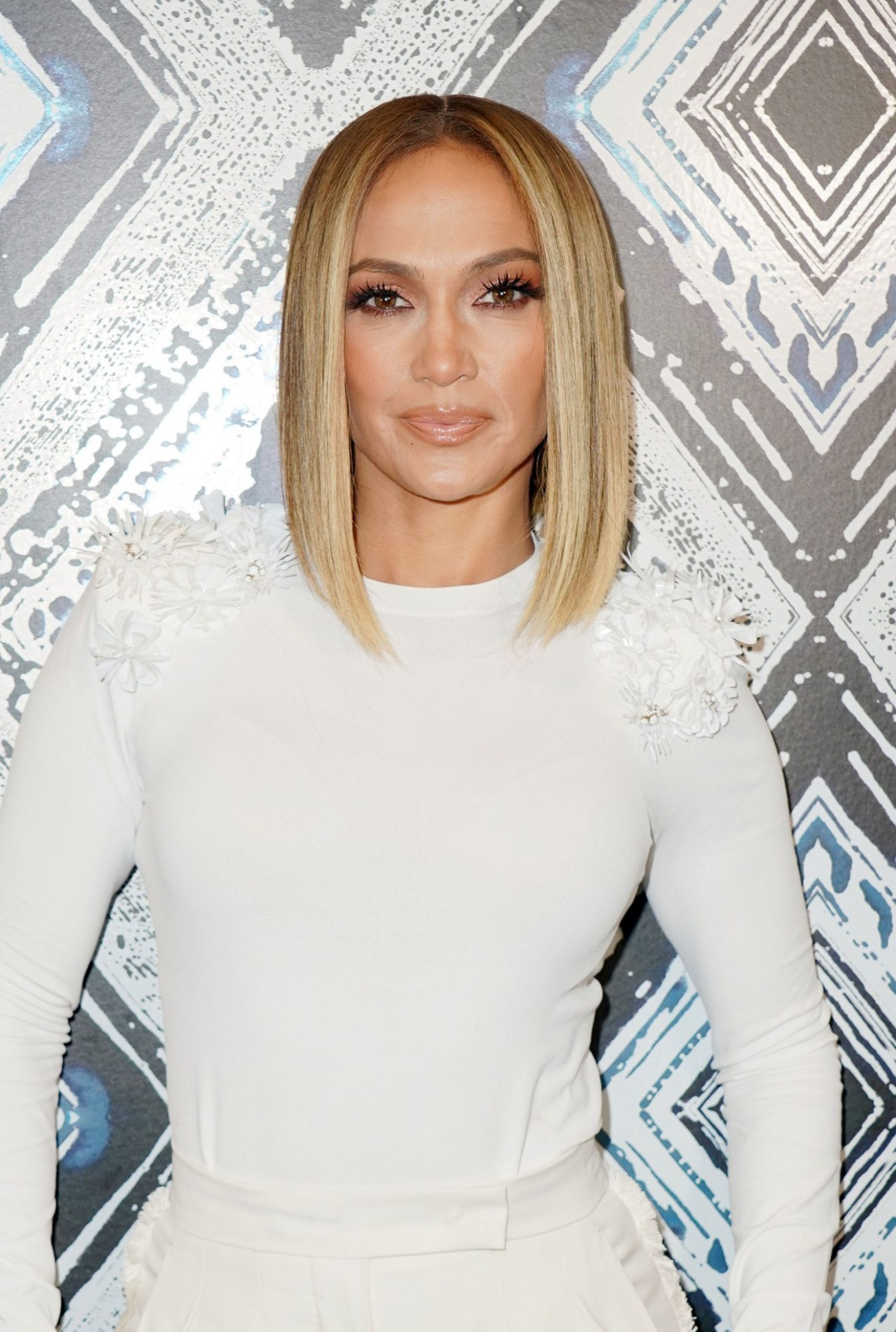 Jennifer Lopez Debuts a Curly Bob Hairstyle  InStyle
