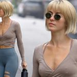 Julianne Hough Flashes Her Washboard Abs As She Steps Out With Her Julianne Hough Short Bob