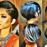 Latest 12 Showiest Bob Haircuts For Black Women Shaved Side Bob Black Hairstyles