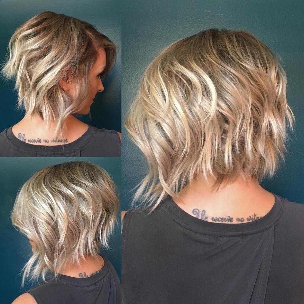 Latest Inverted Bob Haircuts, Women Bob Hairstyle Trends Short Layered Inverted Bob