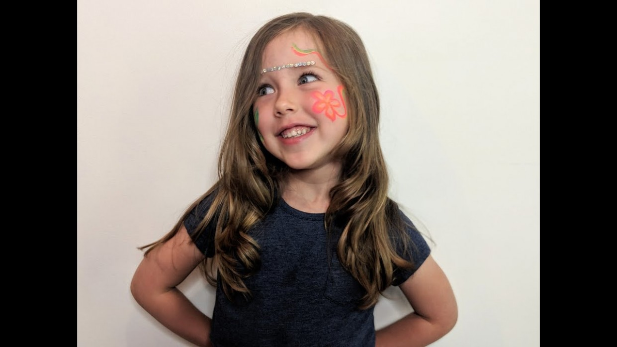 Little Girls Haircut - Quick Face Framing Layers