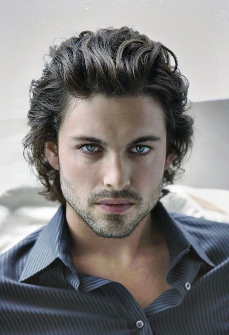 Long Curly Hairstyles Men Mens Hairstyles And Haircuts Ideas Man Big Hair Style