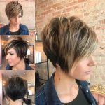 Long Textured Pixie With Asymmetrical Nape Long Pixie Hairstyles Asymmetrical Long Pixie