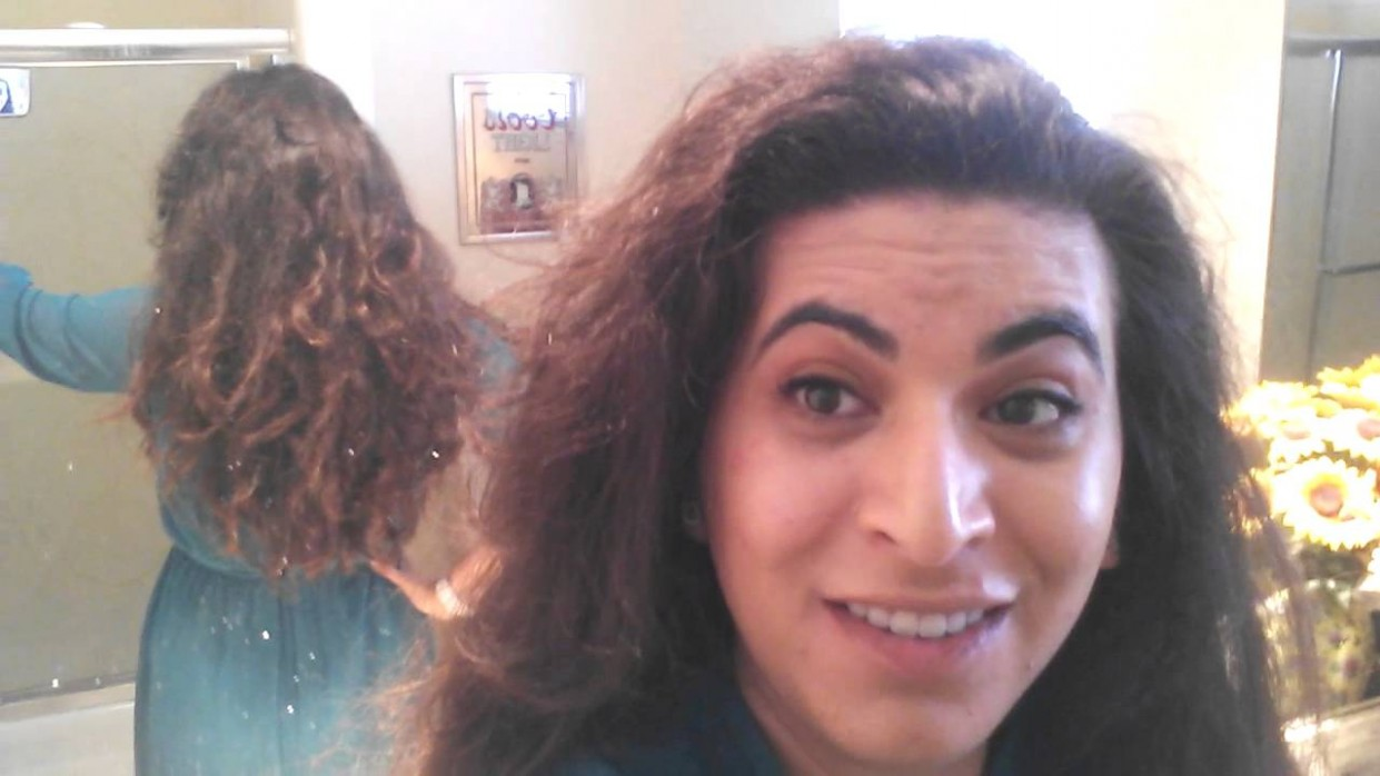 Long, Thick, Wavy Hair Before Pixie Cut Pixie Cut For Thick Curly Hair