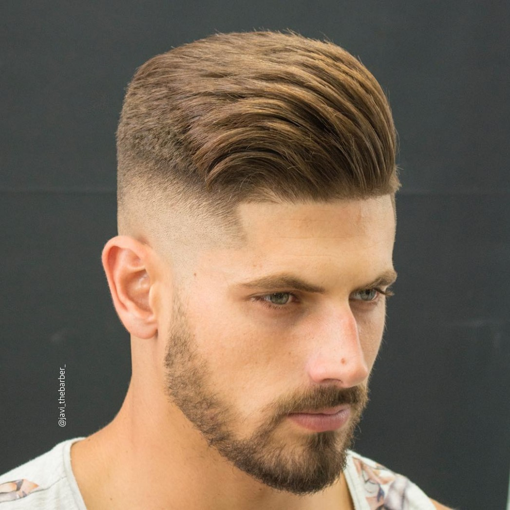 Mens Hairstyles To The Side Best Of Hairstyles And How To Do Them Shaved On Sides Long On Top