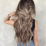 Messy Braided Hairstyle With Long Hair, Women Long Hairstyles For Messy Long Hairstyles