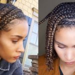 Mini BRAIDS!! Easy Protective Style For NATURAL HAIR YouTube Protective Styles For Short Natural Hair