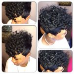 Mohawk Quick Weave Hairstyles, Short Curly Weave, Curly Weave Short Mohawk Hairstyles With Weave