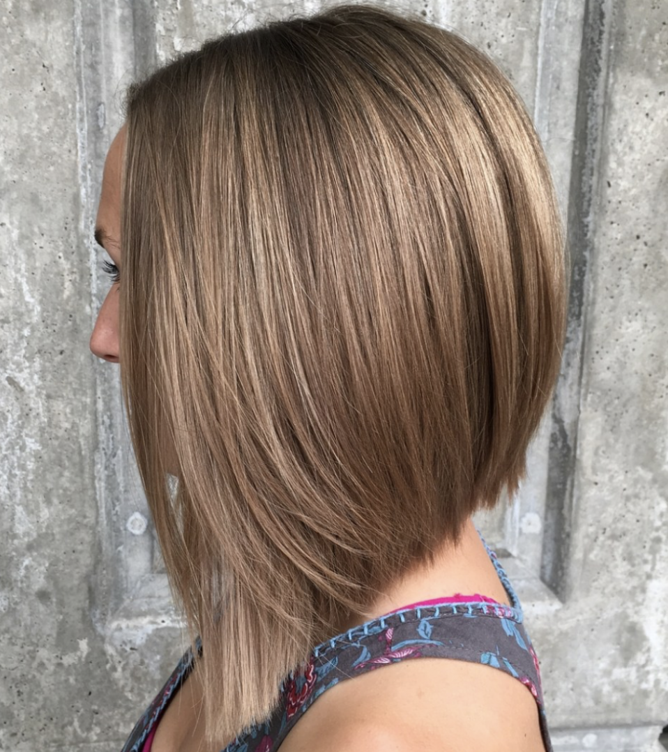 Most Popular Long Inverted Bob Hairstyles LatestHairstylePedia