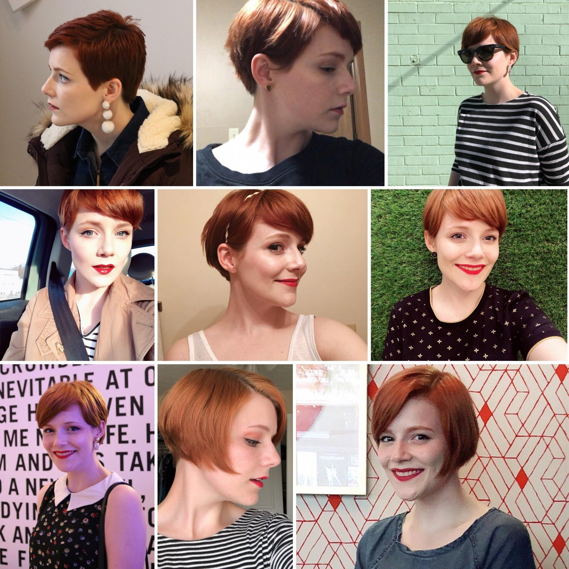 My SECOND Time Growing Out A Pixie Cut (when Will I Ever Learn Growing Out A Pixie Cut Into A Bob