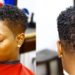 NATURAL CURLY HAIRSTYLES For WOMEN FADE Short Natural Fade Haircuts For Black Females